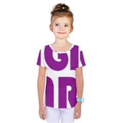 Migraine Warrior With Ribbon Kids  One Piece Tee