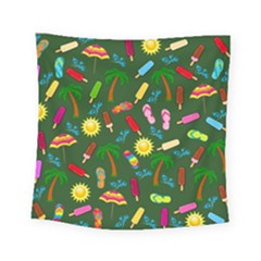 Beach Pattern Square Tapestry (small)