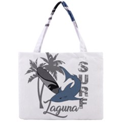 Surf   Laguna Mini Tote Bag by Valentinaart