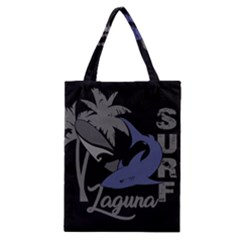 Surf   Laguna Classic Tote Bag by Valentinaart