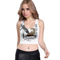 Surf   Laguna Racer Back Crop Top