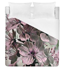 Wonderful Silky Flowers A Duvet Cover (queen Size) by MoreColorsinLife