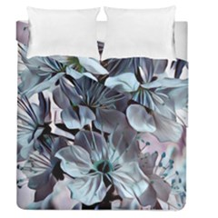 Wonderful Silky Flowers B Duvet Cover Double Side (queen Size) by MoreColorsinLife