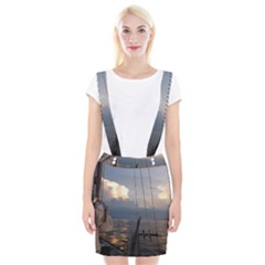 Sailing Into The Storm Braces Suspender Skirt