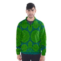 Summer And Festive Touch Of Peace And Fantasy Wind Breaker (men) by pepitasart