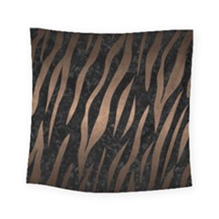 Skin2 Black Marble & Bronze Metal Square Tapestry (small) by trendistuff
