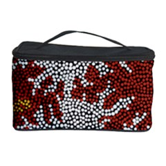 Aboriginal Art – Riverside Dreaming Cosmetic Storage Case by hogartharts
