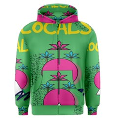 Behance Feelings Beauty Local Polka Dots Green Men s Zipper Hoodie by Mariart