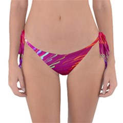 Zoom Colour Motion Blurred Zoom Background With Ray Of Light Hurtling Towards The Viewer Reversible Bikini Bottom