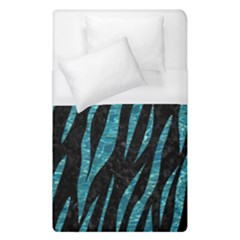 Skin3 Black Marble & Blue Green Water Duvet Cover (single Size) by trendistuff