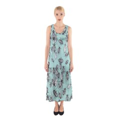 Cockroach Insects Sleeveless Maxi Dress by Mariart