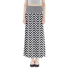 Funky Chevron Stripes Triangles Maxi Skirts by Mariart