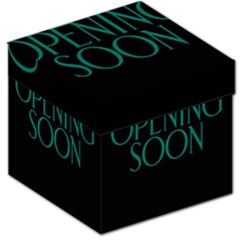 Opening Soon Sign Storage Stool 12   by Mariart