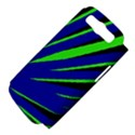 Rays Light Chevron Blue Green Black Samsung Galaxy S III Hardshell Case (PC+Silicone) View4
