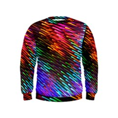 Rainbow Shake Light Line Kids  Sweatshirt