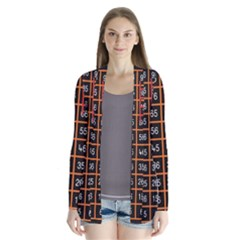 Snakes Ladders Game Plaid Number Cardigans by Mariart