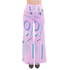 Vintage Unique Graphics Memphis Style Geometric Pants by Mariart