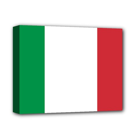 National Flag Of Italy  Deluxe Canvas 14  X 11  by abbeyz71