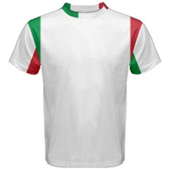 National Flag Of Italy  Men s Cotton Tee by abbeyz71