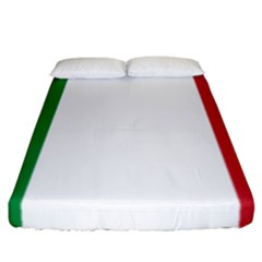 National Flag Of Italy  Fitted Sheet (california King Size) by abbeyz71