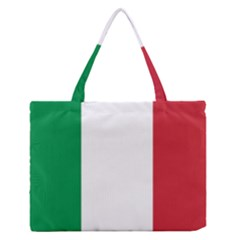 National Flag Of Italy  Medium Zipper Tote Bag by abbeyz71