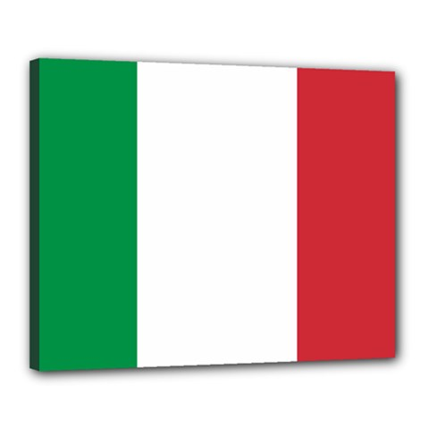National Flag Of Italy  Canvas 20  X 16  by abbeyz71