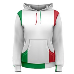 National Flag Of Italy  Women s Pullover Hoodie by abbeyz71