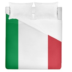 National Flag Of Italy  Duvet Cover (queen Size) by abbeyz71