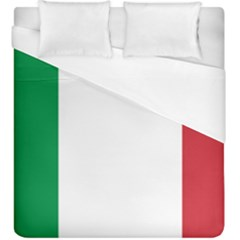 National Flag Of Italy  Duvet Cover (king Size) by abbeyz71