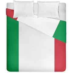 National Flag Of Italy  Duvet Cover Double Side (california King Size) by abbeyz71