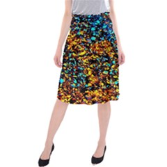 Colorful Seashell Beach Sand Midi Beach Skirt