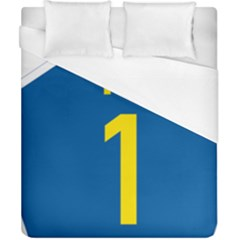 South Africa National Route N1 Marker Duvet Cover (california King Size) by abbeyz71