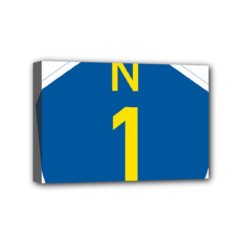 South Africa National Route N1 Marker Mini Canvas 6  X 4  by abbeyz71