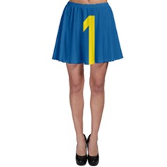 South Africa National Route N1 Marker Skater Skirt by abbeyz71