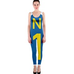 South Africa National Route N1 Marker Onepiece Catsuit