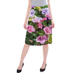 Lovely Flowers 17 Midi Beach Skirt