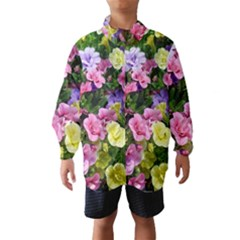Lovely Flowers 17 Wind Breaker (kids)