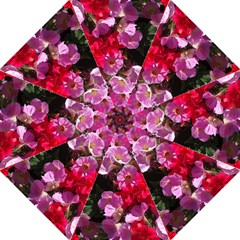 Wonderful Pink Flower Mix Straight Umbrellas
