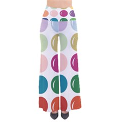 Brights Pastels Bubble Balloon Color Rainbow Pants by Mariart