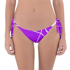 Number Purple Reversible Bikini Bottom by Mariart