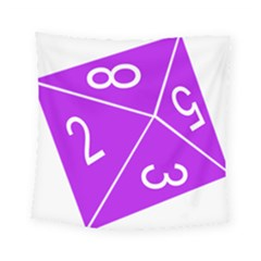 Number Purple Square Tapestry (small) by Mariart