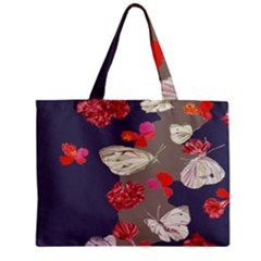 Original Butterfly Carnation Mini Tote Bag by Mariart