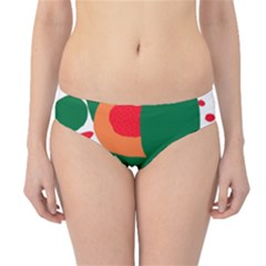 Portraits Plants Sunflower Green Orange Flower Hipster Bikini Bottoms by Mariart