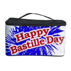 Happy Bastille Day Graphic Logo Cosmetic Storage Case by dflcprints