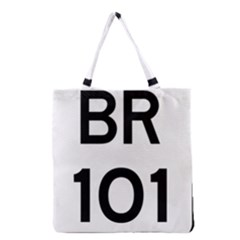 Brazil Br 101 Transcoastal Highway  Grocery Tote Bag by abbeyz71
