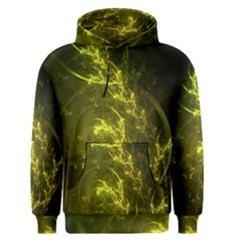 Beautiful Emerald Fairy Ferns In A Fractal Forest Men s Pullover Hoodie by jayaprime