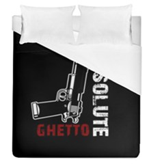Absolute Ghetto Duvet Cover (queen Size) by Valentinaart