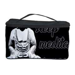 Eat, Sleep, Meditate, Repeat  Cosmetic Storage Case