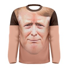 Donald Trump    Men s Long Sleeve Tee by daydreamer