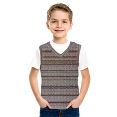 Stripy Knitted Wool Fabric Texture Kids  Sportswear by BangZart